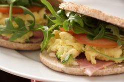 Morning glory sandwich
