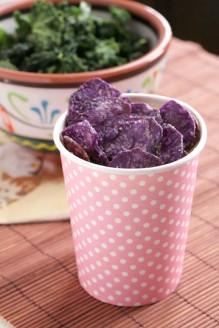 Purple chips