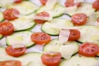 Carpaccio de zucchini