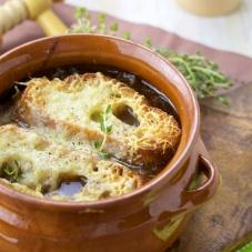 Onion soup french gruyere