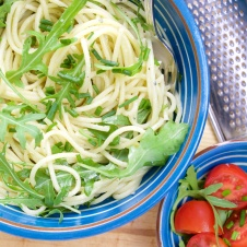 Roquefort and Arugula Pasta