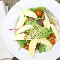Apple walnut salad