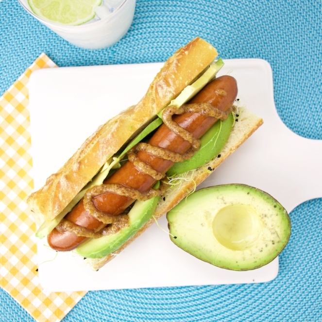 Avocado Hot Dog