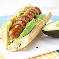 Avocado Hot Dog