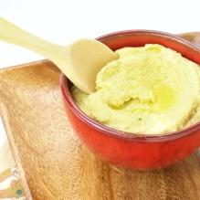 Hummus with turmeric