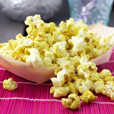 curry powder popcorn