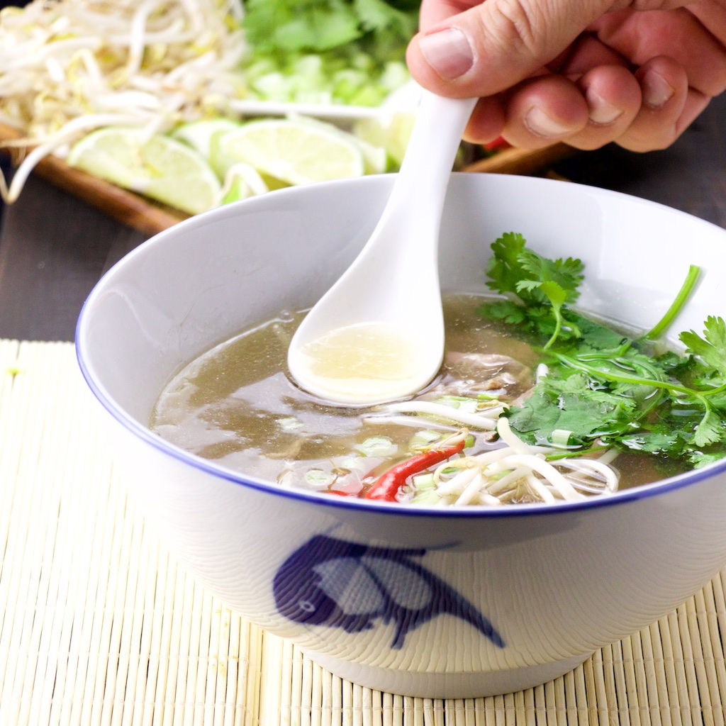 Pho Bo (Vietnamese soup)