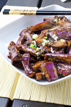 Szechuan eggplants