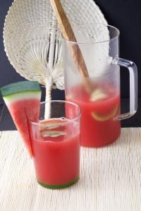 Watermelon and kiwi punch