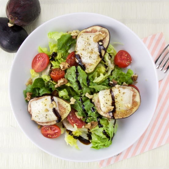 Figs and Goat cheese salad