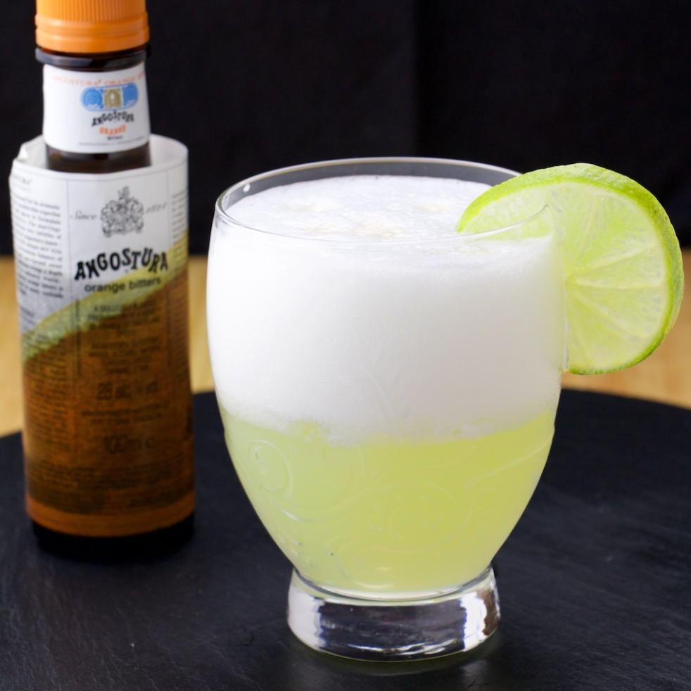 Pisco Sour lime peru