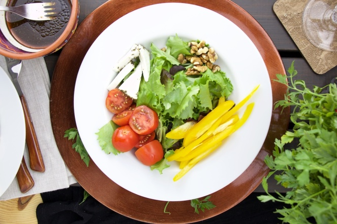 4 element salad
