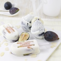 figs and goat cheese popsicle