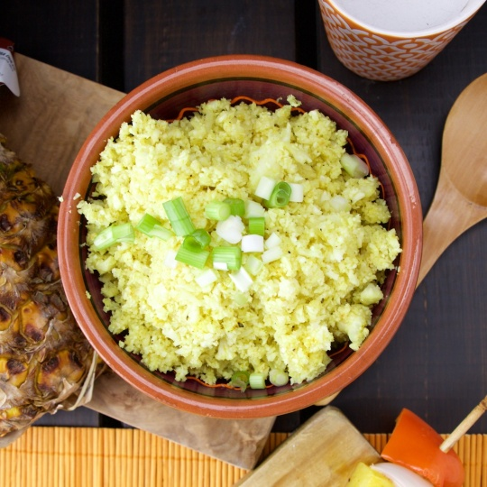 Cauliflower curry couscous