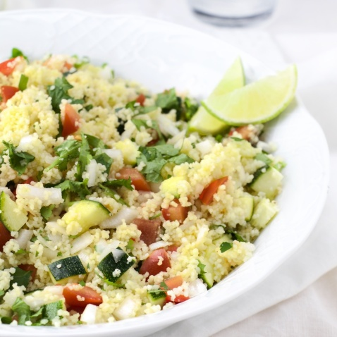 Cilantro-lime Tabbouleh