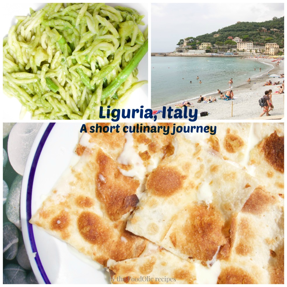 liguria italy foccacia travel pesto