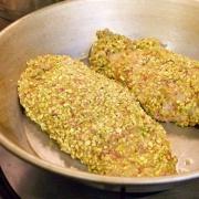 Pistachio crusted chicken breast