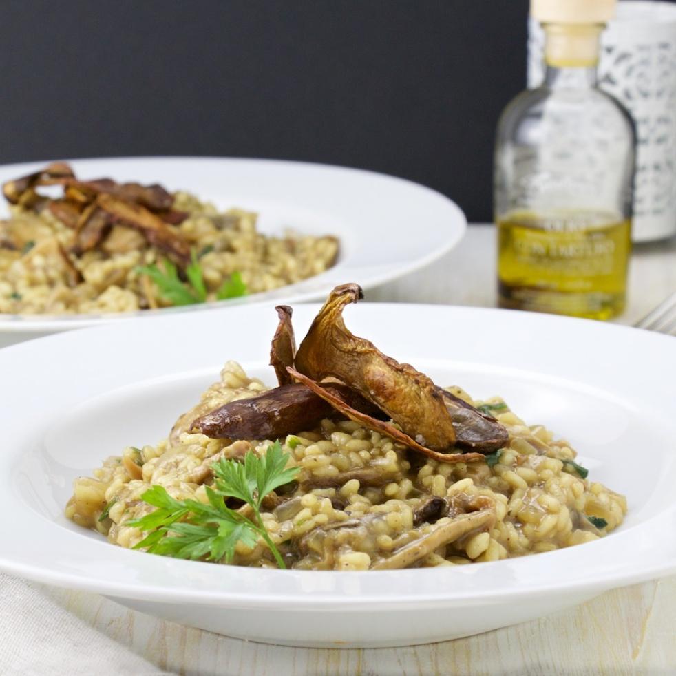 porcini risotto italian