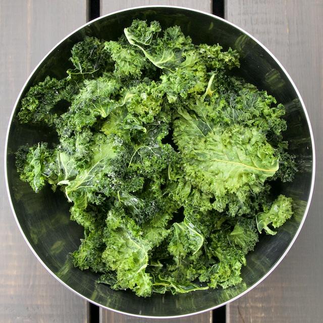 Truffle Kale chips