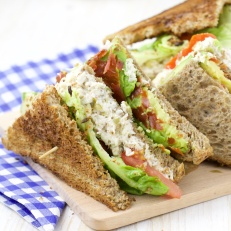 Avocado Club Sandwich