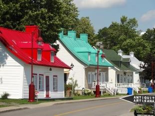 Maisons ancestral de l'ile