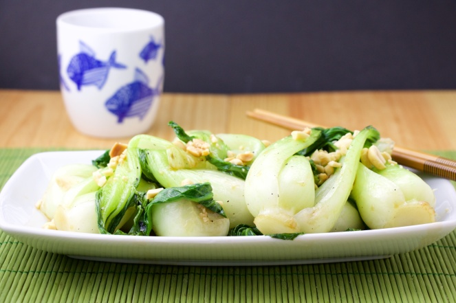 Bok Chow in oyster sauce