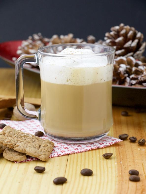 skinny eggnog latte coffee