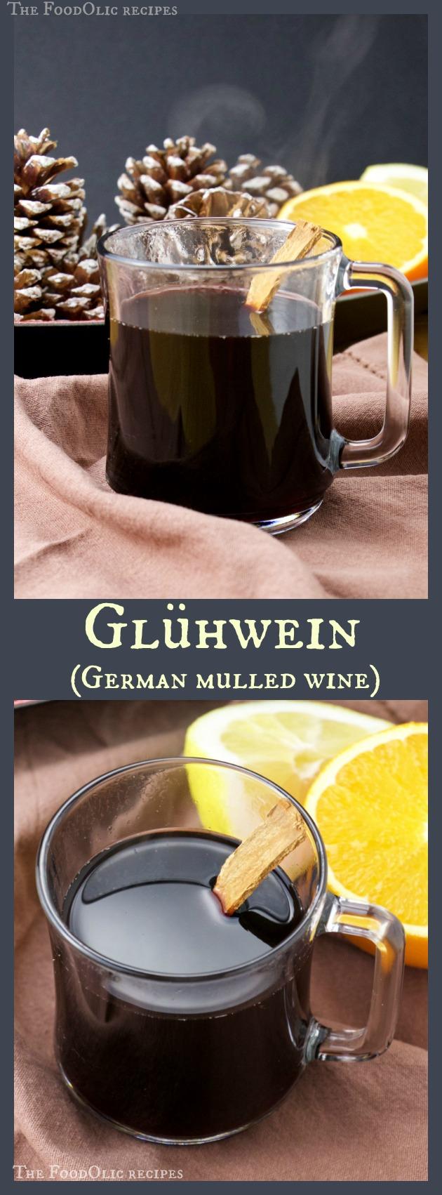 hot wine german christmas