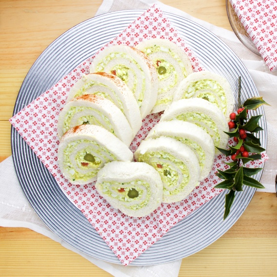 Mamie's egg sandwich rolls