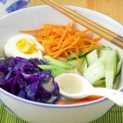 Vegetable soup bowl