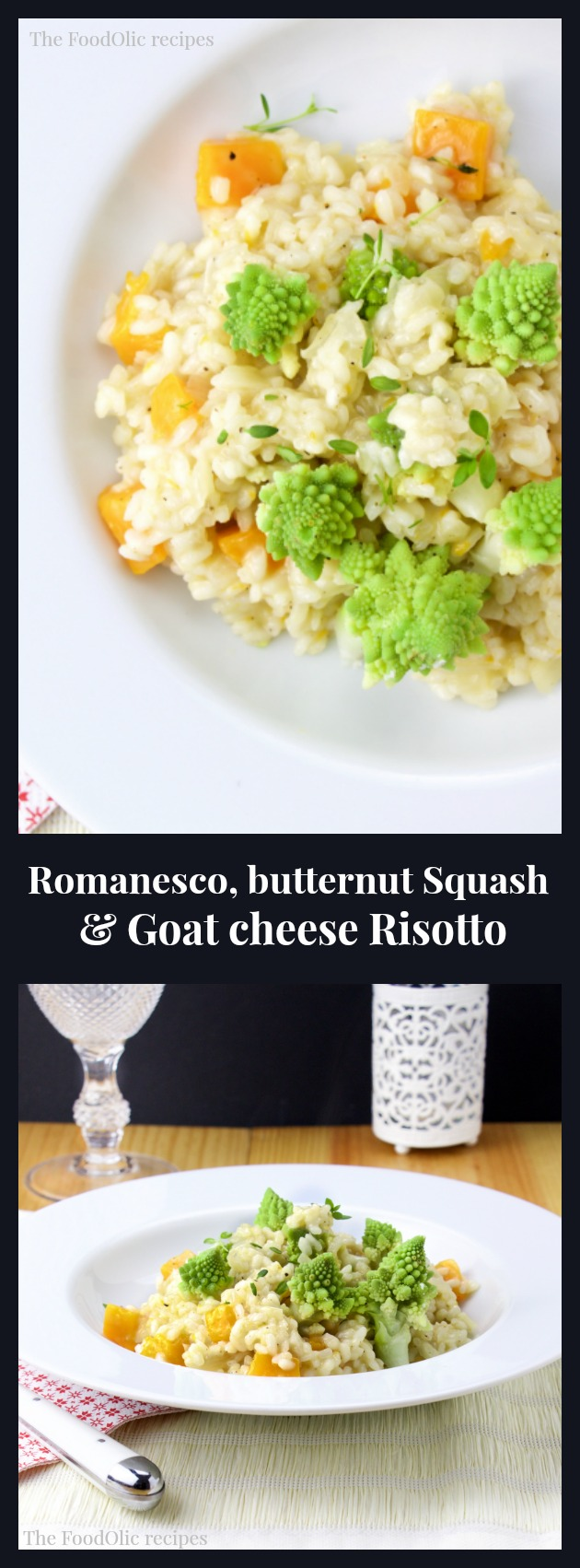risotto goat cheese