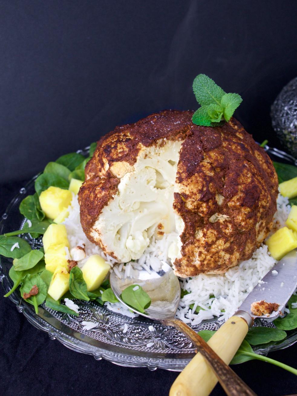 Cauliflower tandoori