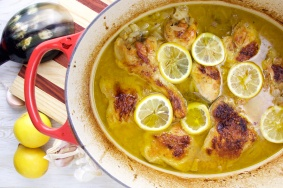 Lemon-Garlic Chicken Stew