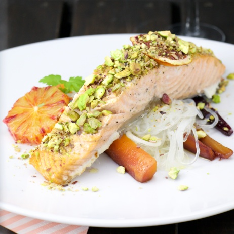 Pistachio Orange Salmon