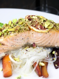 Pistachio Orange Salmon