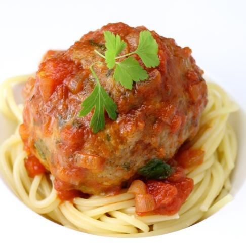 Big MeatBall Spaghetti