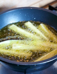 deep frying olive oil