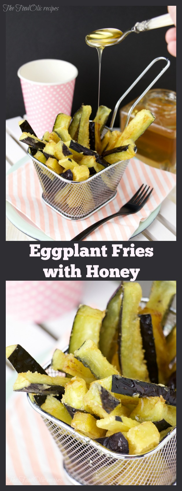 vegetarian spanish tapas eggplant honey