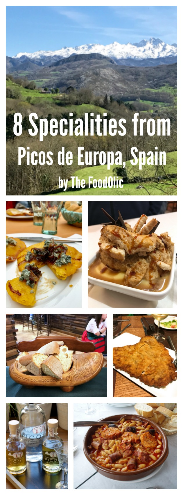 gastronomy of picos de europa, spain