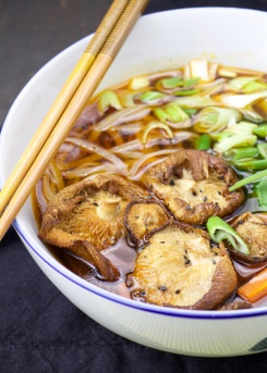 bone broth soup asian style