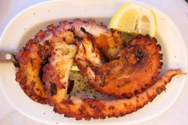 Grilled Greek Octopus