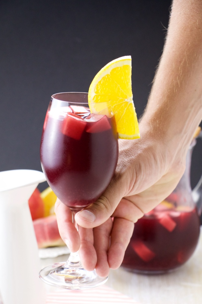 traditional sangria drink