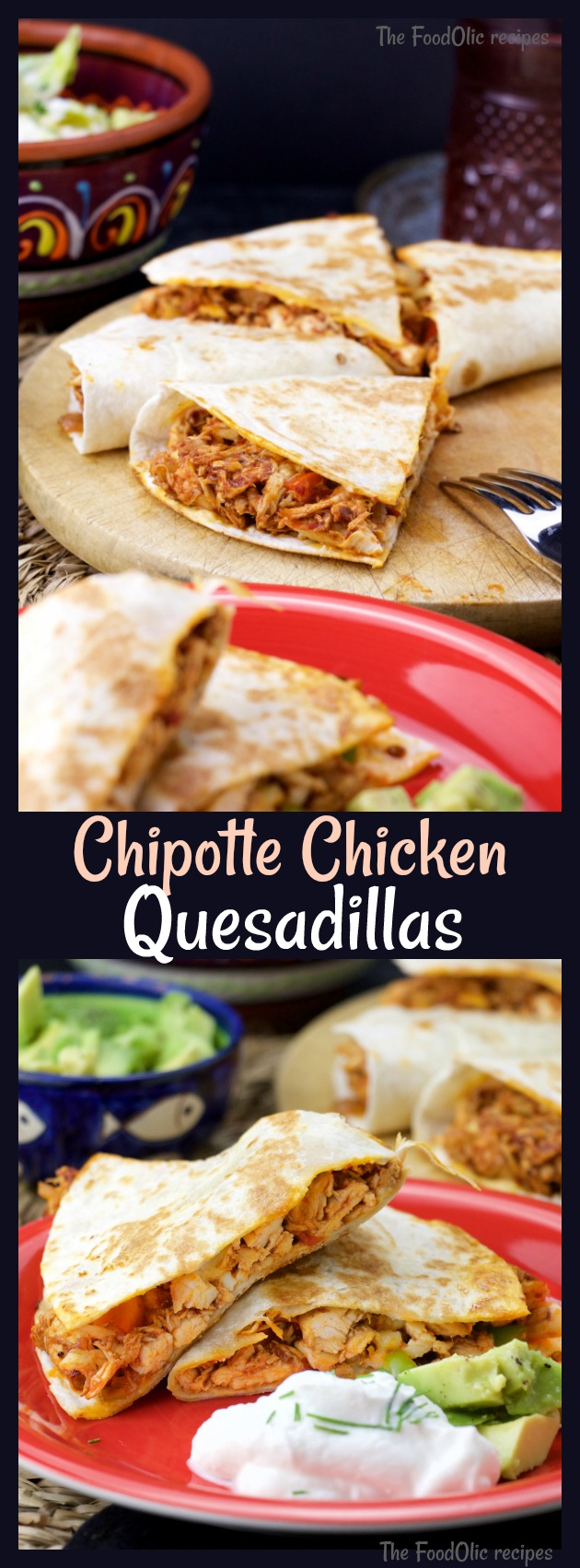chicken quesadillas tortilla