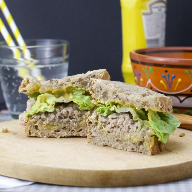 Sandwich aux cretons