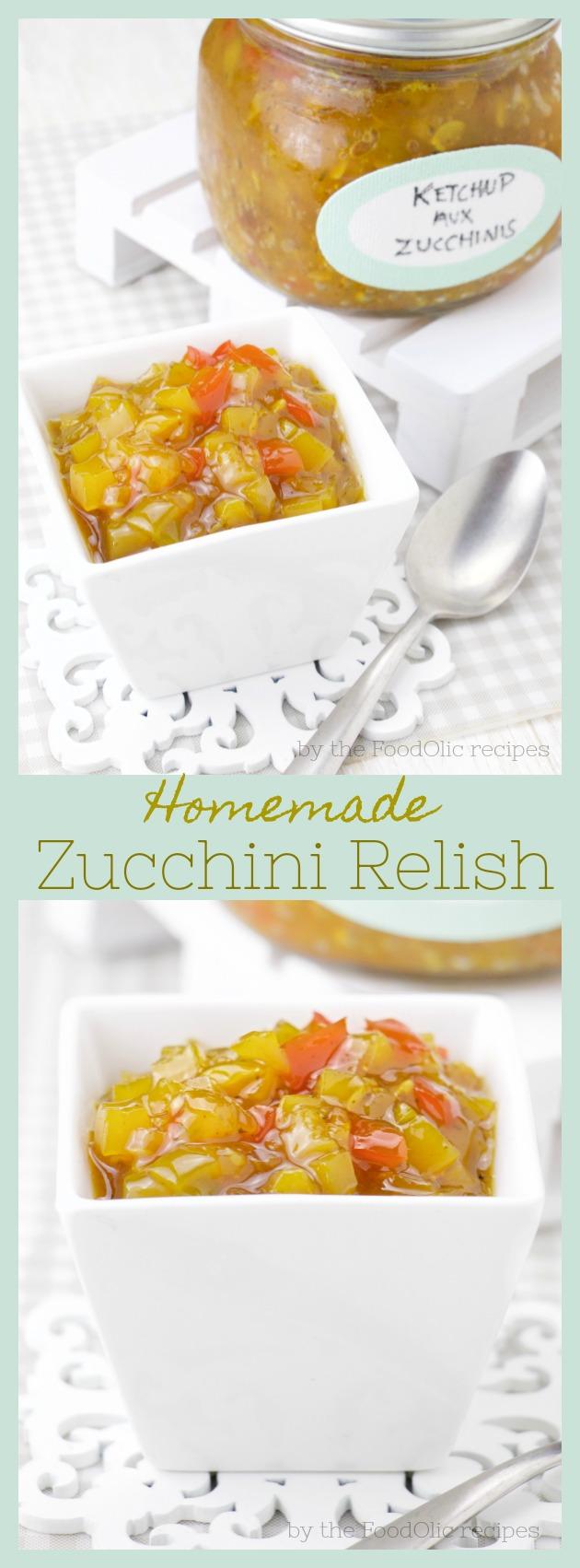 zucchini relish condiment
